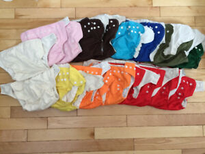 AMP/Assorted large sized diaper covers