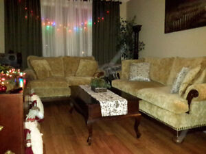 Couch and Loveseat Set