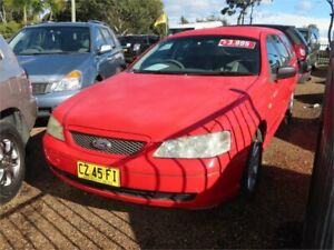 2003 Ford Falcon BA XT Red 4 Speed Sports Automatic Wagon