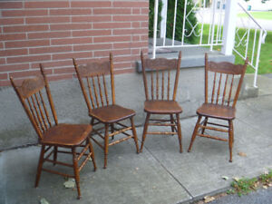Antique Carved Dinning Chairs