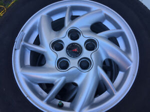 Pontiac Grand AM Alloy Rim with Michelin Tires mounted