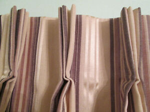 Custom made,new pinch pleated, drapery-curtains for two windows Kingston Kingston Area image 2