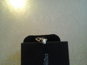 New Price-200.00 white black tahitian pearl 10k gold solid ring