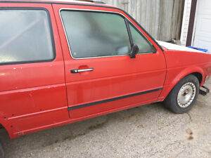 MK2 VW Golf Small Doors
