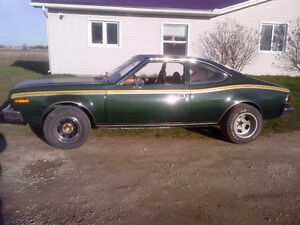 1977 AMC Hornet , with complete Chevy drivetrain.