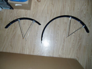 front and rear fenders for mountian bike or motorized bicycle.