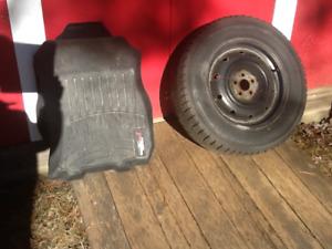 2012 Subaru Outback 4 Winter Tires & Rims