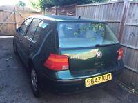 VW Golf SE mk 4