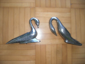 Packard Swan Hood Ornament Vintage Art Deco