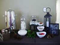Complete DIY Hot Chocolate Bar to Rent
