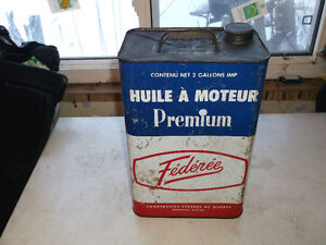 Federee oil tin Cornwall Ontario image 1