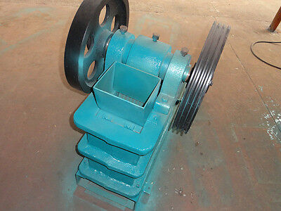 Brand New Pe100x150 4x6 Universal Jaw Crusher With 3hp Motor Free Ship By Sea