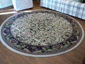 Large round carpet