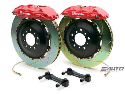 - Brembo Front GT Brake 4piston Caliper Red 332x32 Slot Disc RX7 RX-7 FD3S 93-95