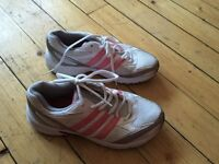 Ladies adidas trainers size 5 barely worn