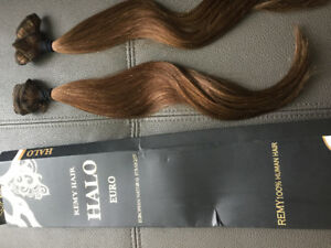 Hair Extensions - Remy Halo 100% Human Hair - Shade 4