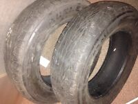 Tyres for sale. Almost full tread