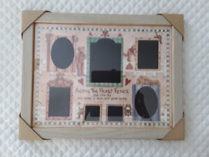 COLLAGE PICTURE FRAME + 2 PHOTO ALBUMS
