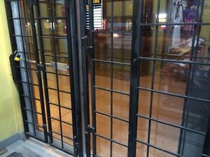SECURITY GRILLS / GRILLES SECURITAIRE