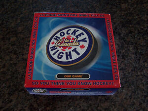 Hockey Night in Canada Trivia Board Game (New)