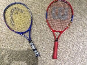 Child size tennis racquets