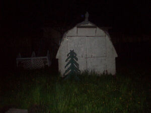 Free old wood shed