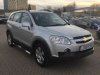 CHEVROLET CAPTIVA 2.0 Vcdi LT 7 seater auto diesel 1 year mot satnav reverse camera bluetooth