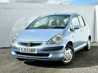 2003 Honda Jazz 1.4i-DSI SE 5dr HATCHBACK Petrol Manual