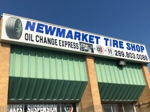Newmarket Tire Shop - Now Open! - Best Deals on Tires and Wheels