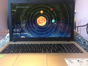 Brand new ASUS I7 Intel Laptop (Black & Gold)