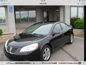 2005 Pontiac G6 Black Sedan