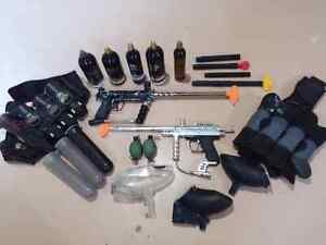 Paintball Equipment - various items
