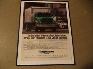 OLD INTERNATIONAL HARVESTER CLASSIC CAR ADS & JEEP Windsor Region Ontario image 4