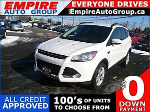 2014 FORD ESCAPE SE * 1 OWNER * REAR CAM * BLUETOOTH * LOW KM