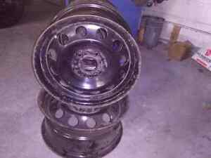 Steel Rims 16 x 7, 5 - 120 Cambridge Kitchener Area image 2
