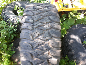 4  Lt 395 70 16 Mickey Thompson Baja Mtz radial tires