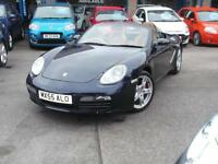 55 PORSCHE BOXSTER 3.2S CONVERTIBLE 2DR FULL SERVICE HISTORY FULL LEATHER