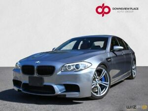 2013 BMW M5 DCT| GREY ON RED| ONE OWNER| NO ACCIDENT