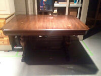 Antique Dining Table - $125