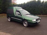 Ve caddy van customised