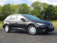 SEAT Leon 1.6 TDI S ST 5dr (start/stop) (black) 2014