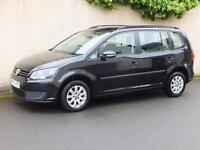 VOLKSWAGEN TOURAN 1.6TDI ( 105ps ) 2012MY S 2012 12 SEVEN SEAT DIESEL ONE OWNER