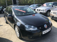 57 REG Volkswagen Golf 2.0TDI DPF ( 170PS ) GT Sport BLACK