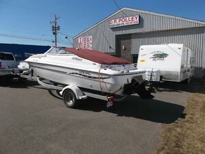 1998 DORAL 216CC WITH MERCURY CRUISER AND TRAILER AMHERST NS