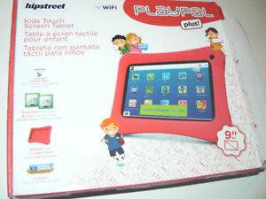 """9"""" Kids Tablet with bump-proof rubber case New (open box)"""