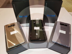Brand New unlocked Samsung Note 8 LTE Dual SIM 256GB Black