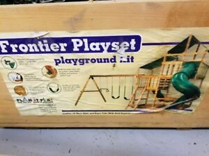 New Frontier Playset Playground Kit