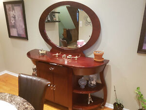 Mirror stand cabinet for sale
