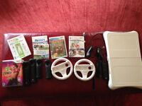 Nintendo Wii Console, games and accessories