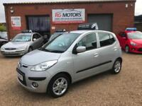 2009 Hyundai i10 1.2 ( 76bhp ) Comfort 5dr Silver, **ANY PX WELCOME**